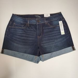 Time Tru denim shorts 12 NWT